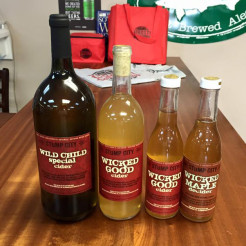 wicked good cider nh